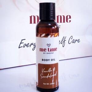 Sandalwood & Vanilla Body Oil