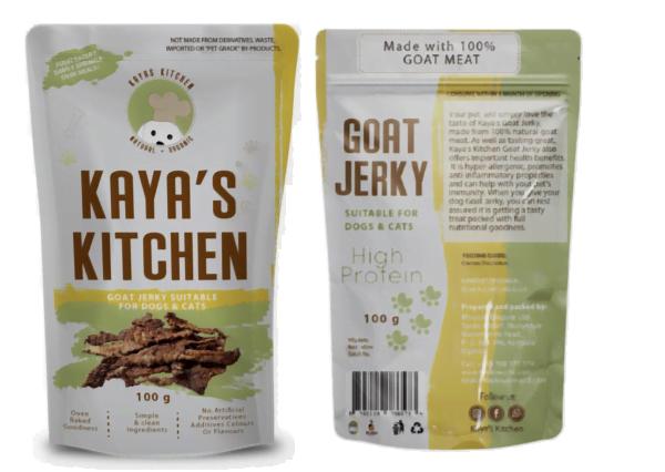 Kaya's Kitchen Goat Jerky